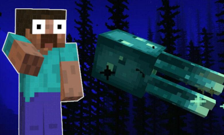 Minecraft obtiene calamares resplandecientes, por lo que puedes derrochar bien