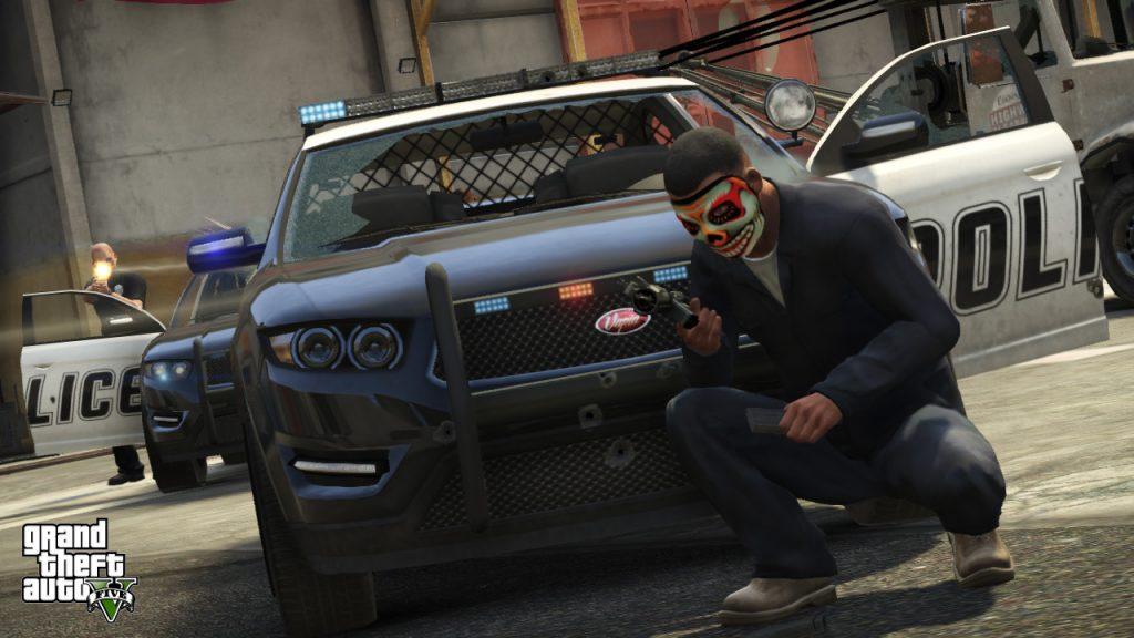 Coche de policía de GTA 5 Online