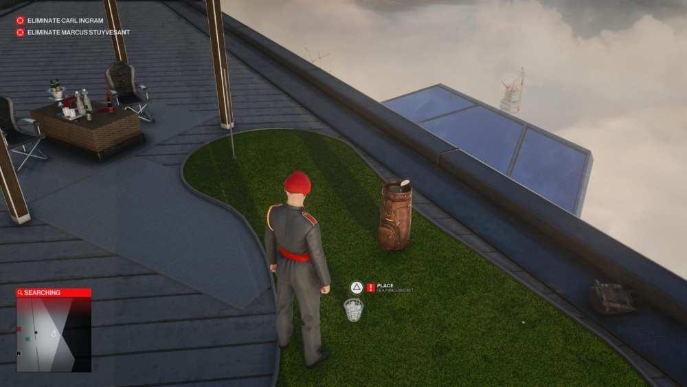 explosivo hitman 3 pelota de golf
