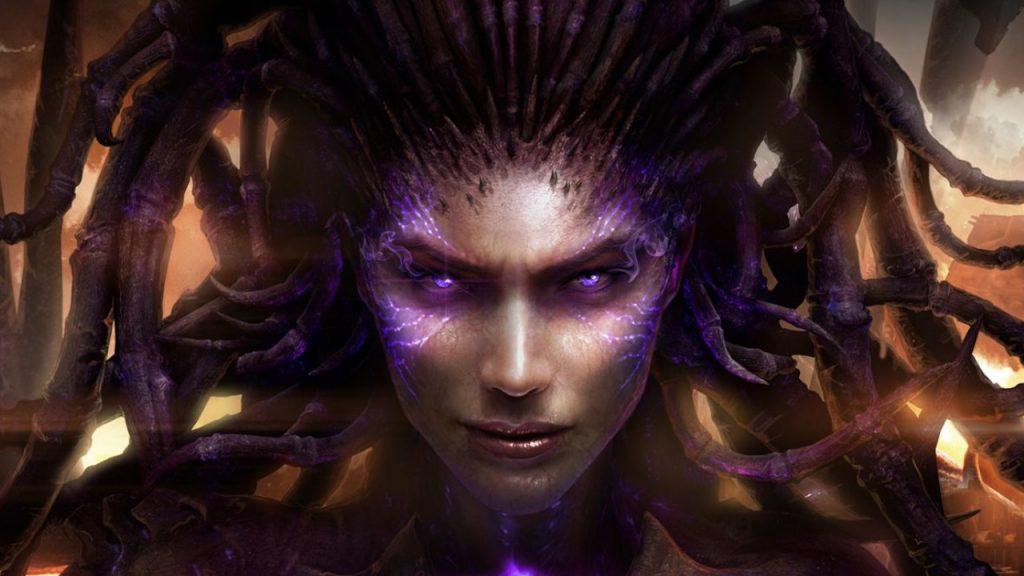 StarCraft 2 Sarah Kerrigan Zerg título 1280x720