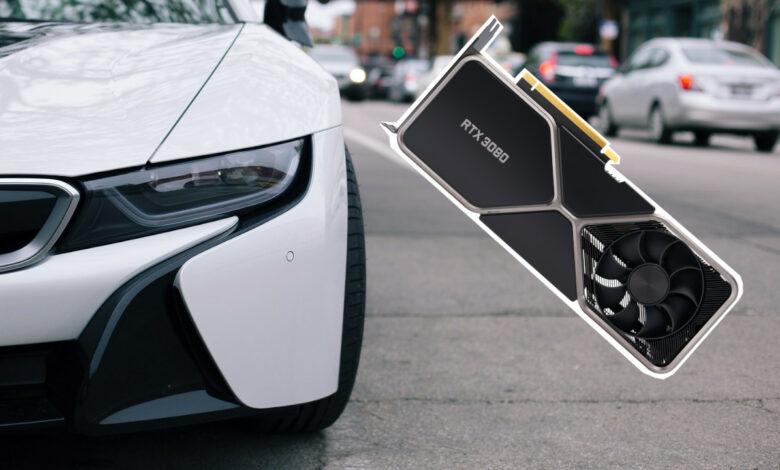 Los conductores de BMW instalan varios RTX 3080 en su automóvil solo para molestarlo
