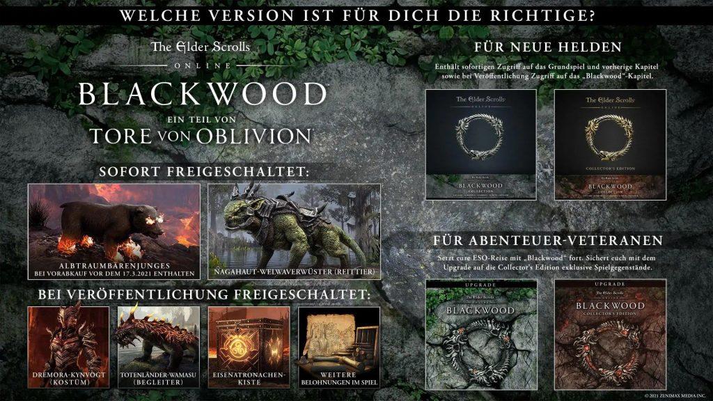 Reserva ESO Blackwood