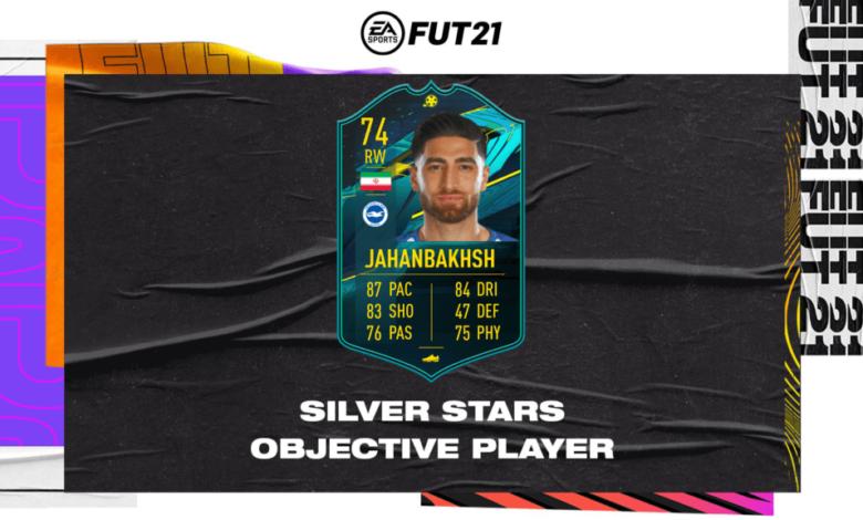 FIFA 21: Alireza Jahanbakhsh Silver Stars Moments Objetivos - Requisitos