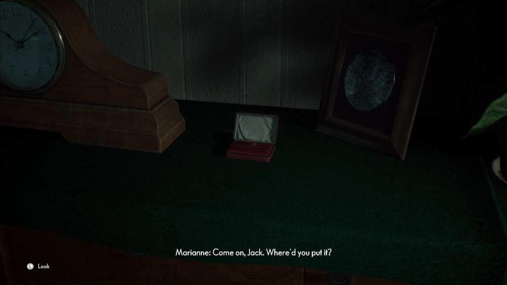 ubicación del alfiler de corbata de Jack