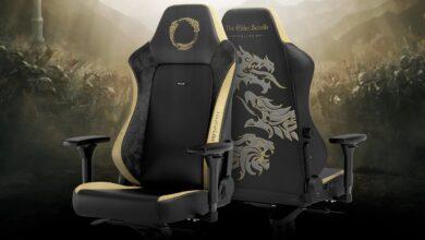 MMORPG ESO obtiene su propia silla para juegos: se ve bien y es amigable para la espalda