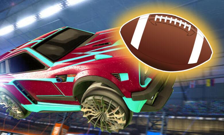 """Rocket League trae un nuevo modo Super Bowl en el que """"sostienes"""" el balón"""