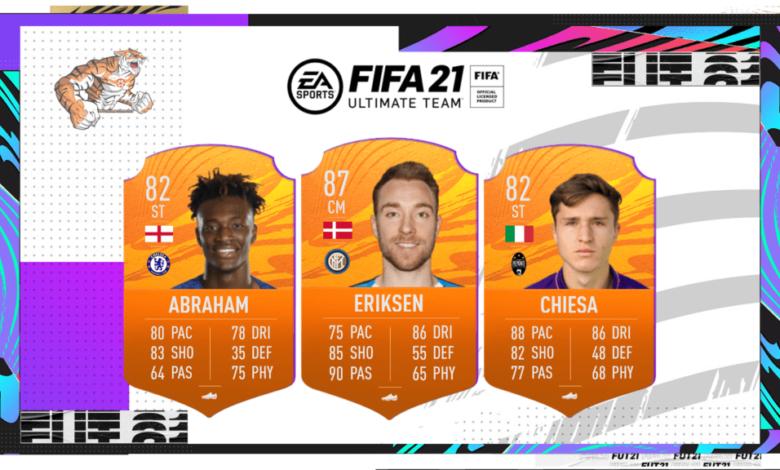 FIFA 21: MOTM - Nuevas cartas de Hombre del partido disponibles - 30 de enero