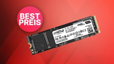 2 TB Crucial P1 SSD en oferta a un precio de martillo absoluto