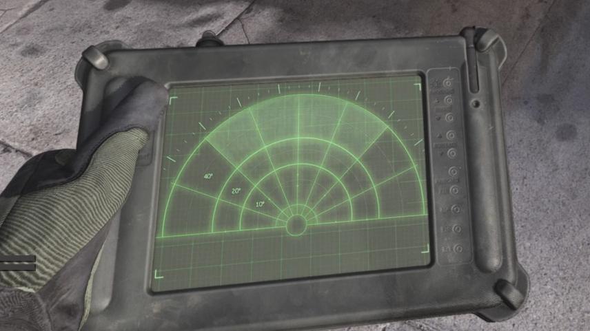 sensor de latido del equipo de zona de guerra de bacalao