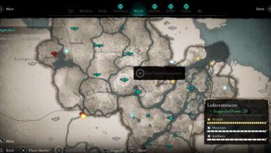 Assassin's Creed (AC) Valhalla - Guardar y viajar rápido no funciona después del último parche - Cómo solucionarlo