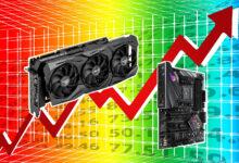 Asus aumentará los precios de las tarjetas gráficas en 2021, por lo que otros fabricantes harán lo mismo