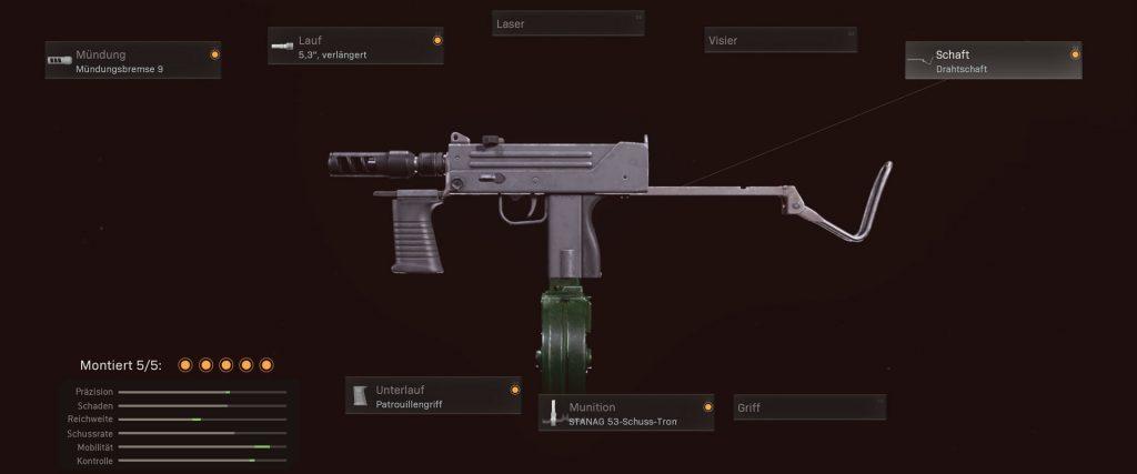 cod warzone mejores armas configuración de mac-10
