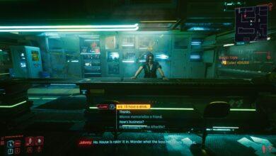 Cyberpunk 2077 - Error atascado de subtítulos de Johnny - Cómo solucionarlo