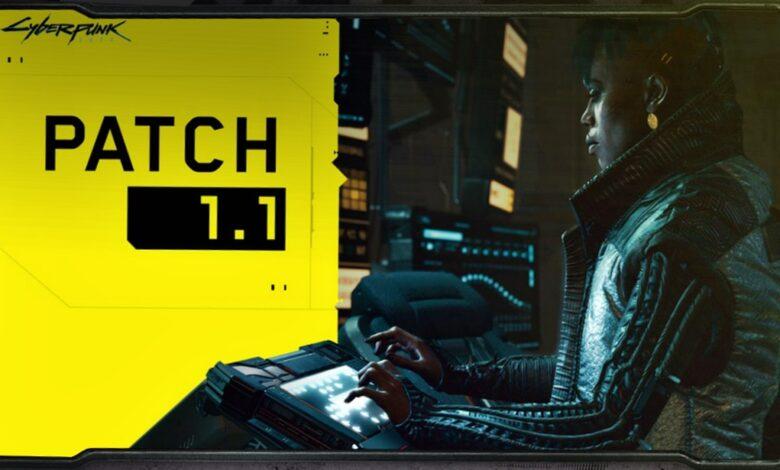 Cyberpunk 2077 - Notas del parche de la actualización 1.1 - 22 de enero de 2021