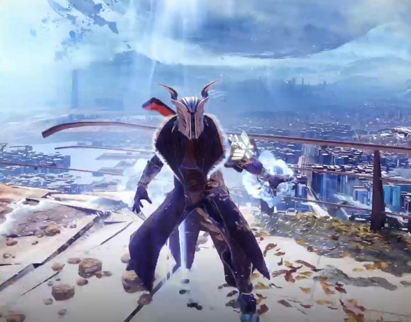 Destiny 2 de habilidad de clase de brujo de la grieta