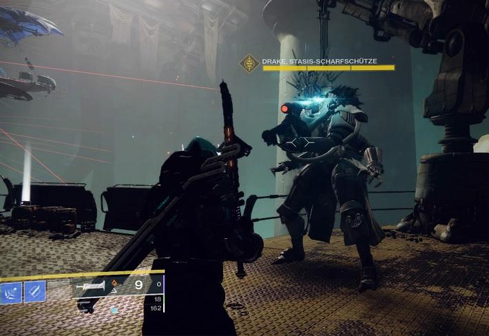 Francotirador Drake Sniper sin peligro Destiny 2