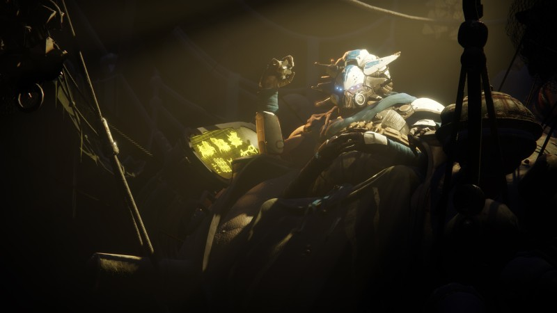 Destiny 2 araña abandonada