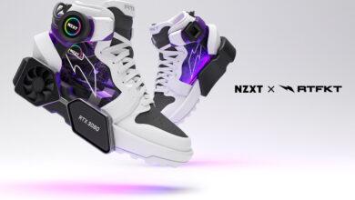 """Echa un vistazo a estas zapatillas locas con un """"RTX 3080"""""""