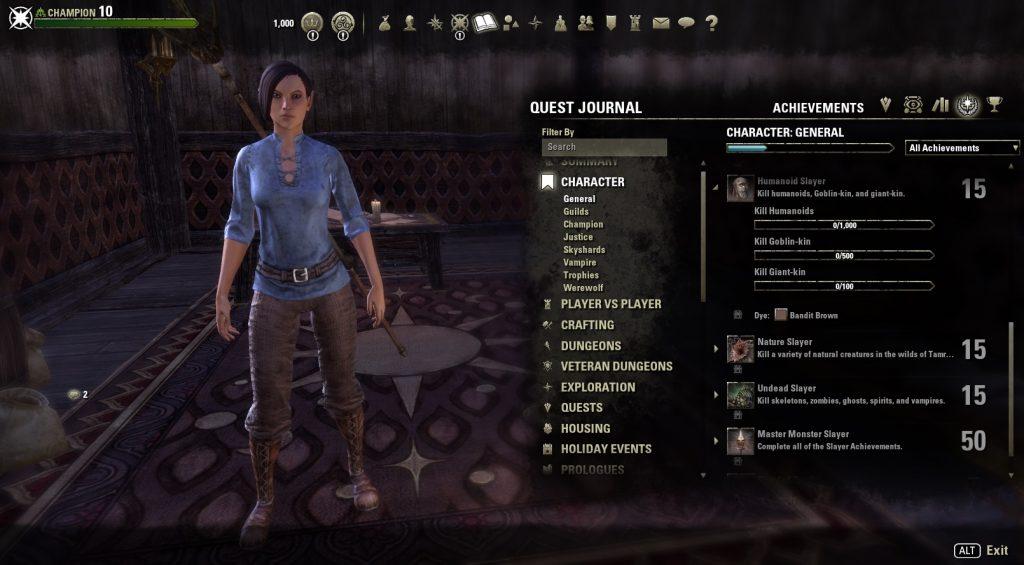 Jugador ESO nivel 50