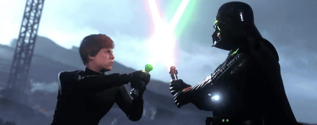 Encabezado de Luke Vader de Battlefront 2