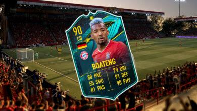 FIFA 21: Cómo obtener la nueva carta superior de Boateng: tienes que ser rápido