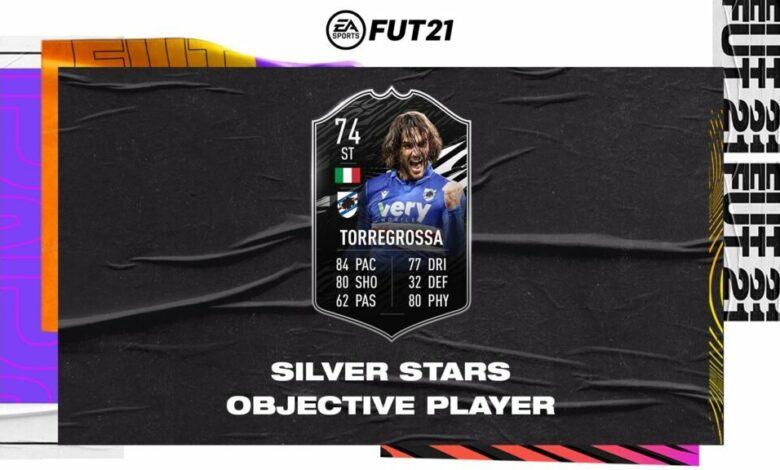 FIFA 21: Ernesto Torregrossa Silver Stars Objetivos - Requisitos