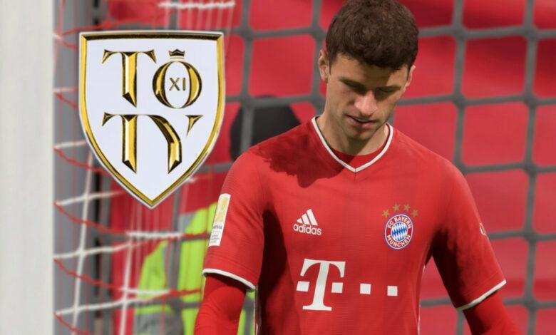 FIFA 21: Jugador enojado - ¿Cómo puede Thomas Müller estar ausente de TOTY?