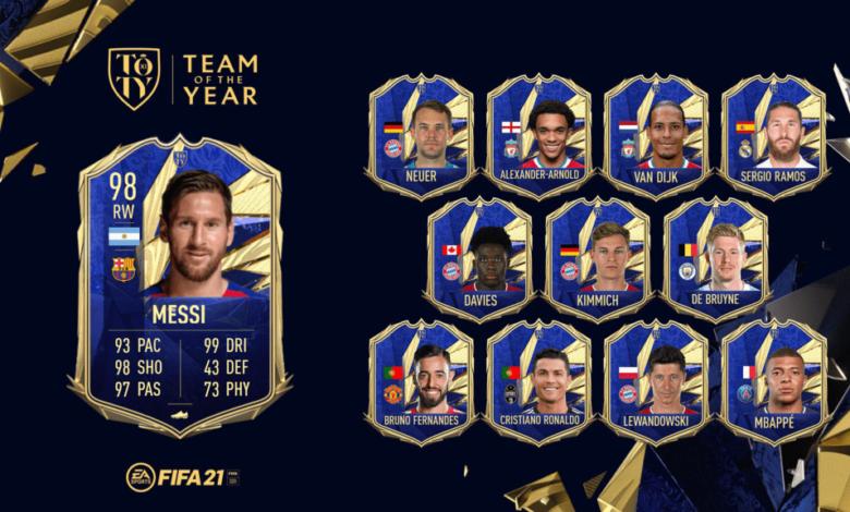 FIFA 21: Lionel Messi es el duodécimo TOTY