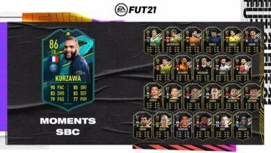 FIFA 21: Momentos de Layvin Kurzawa de SBC - Requisitos y soluciones
