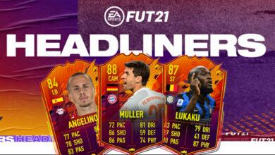 FIFA 21: Nuevas cartas especiales en el evento Headliners - Predicciones para el equipo 2
