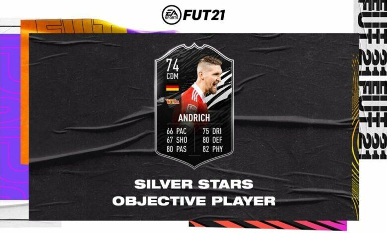 FIFA 21: Objetivos de Robert Andrich Silver Stars - Requisitos