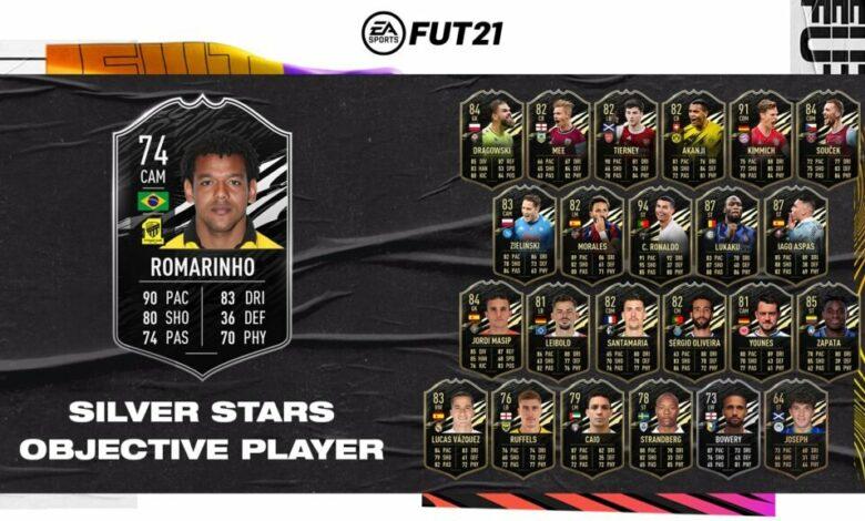 FIFA 21: Objetivos de Romarinho Silver Stars - Requisitos