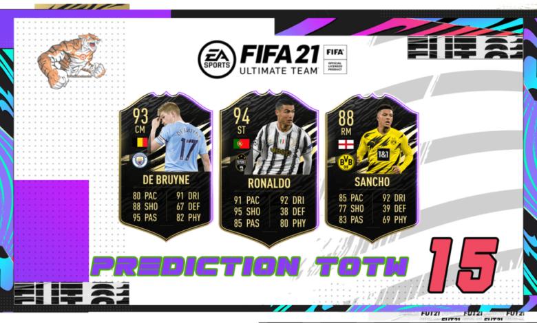 FIFA 21: Predicción TOTW 15 del modo Ultimate Team