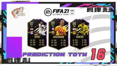 FIFA 21: Predicción TOTW 16 del modo Ultimate Team