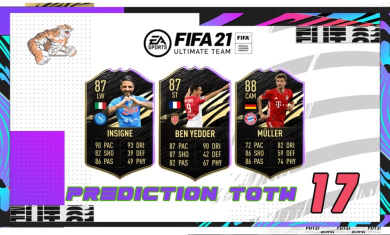 FIFA 21: Predicción TOTW 17 del modo Ultimate Team