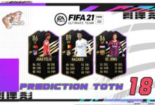 FIFA 21: Predicción TOTW 18 del modo Ultimate Team