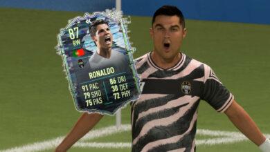 FIFA 21: SBC trae una versión asequible de Ronaldo, ¿vale la pena?