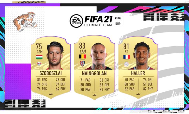 FIFA 21: actualización de transferencias de invierno N ° 1