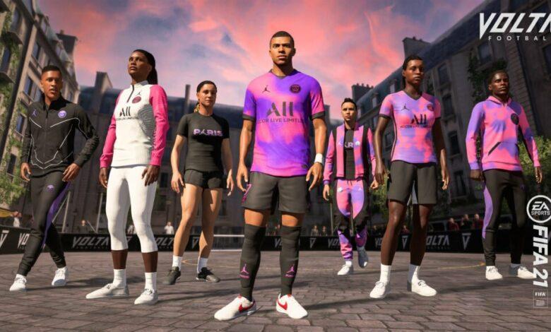 FIFA 21: cuarta equipación del PSG disponible