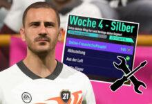 FIFA 21: partido amistoso en la semana 4 Silver está roto, así es como funciona