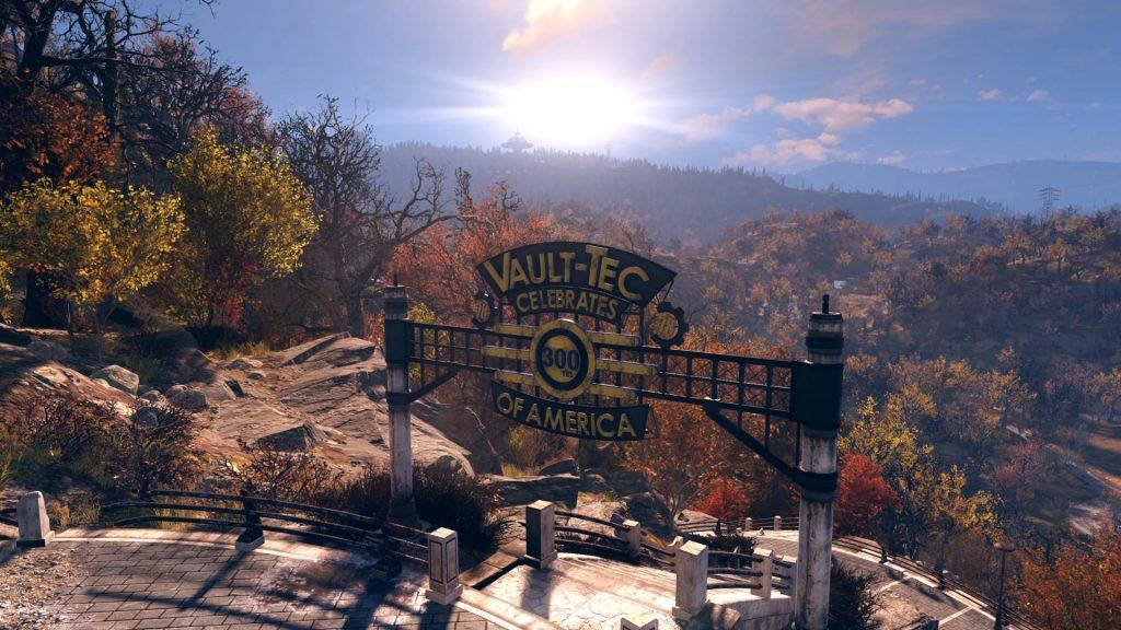 300 años de América Vaul Tec Fallout 76