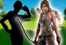 Fortnite probablemente traerá a Lara Croft como la próxima piel de cazador, eso habla por ello