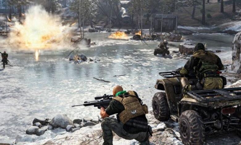 Fuga dice: CoD Warzone pronto podría tener peleas en el agua