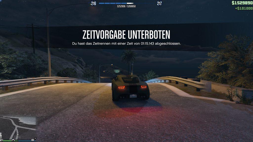 Contrarreloj de GTA Online Ruta 68 Objetivo Paria