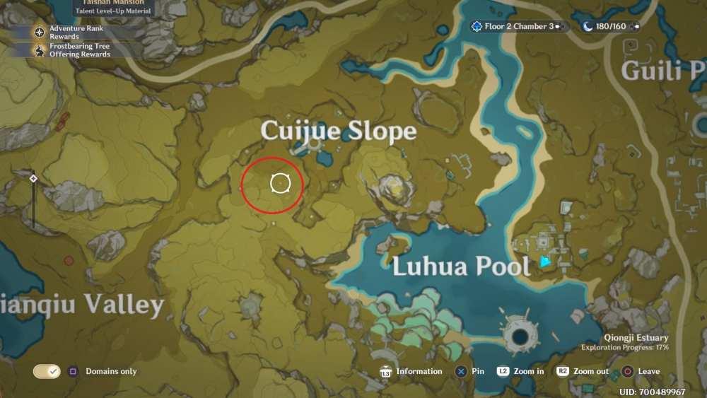 Nueve pilares en Genshin Impact