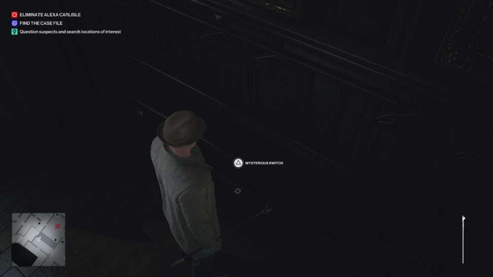 Hitman 3 misterioso interruptor