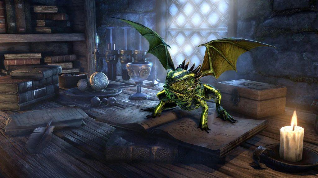 Rana dragón ESO