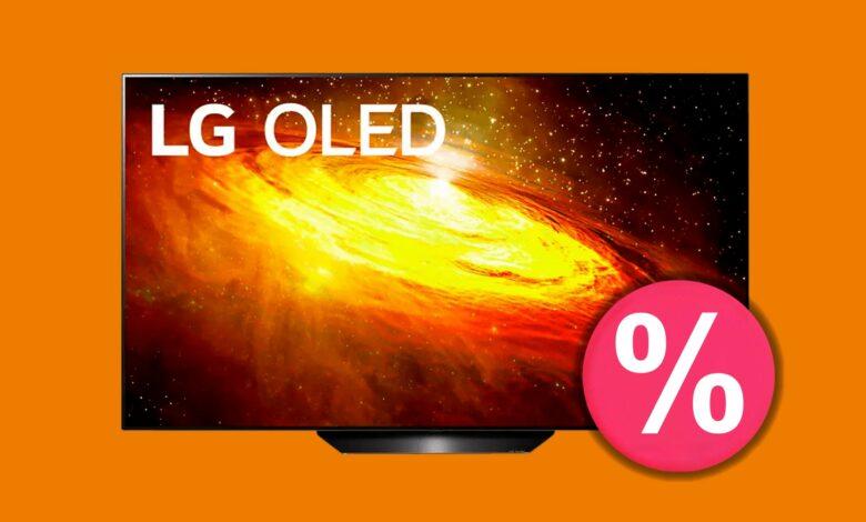 LG OLED TV BX9 con las mejores calificaciones actualmente barato en Saturn.de