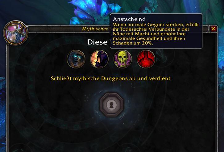 Continuación de la descripción general de WoW Mythic Dungeons