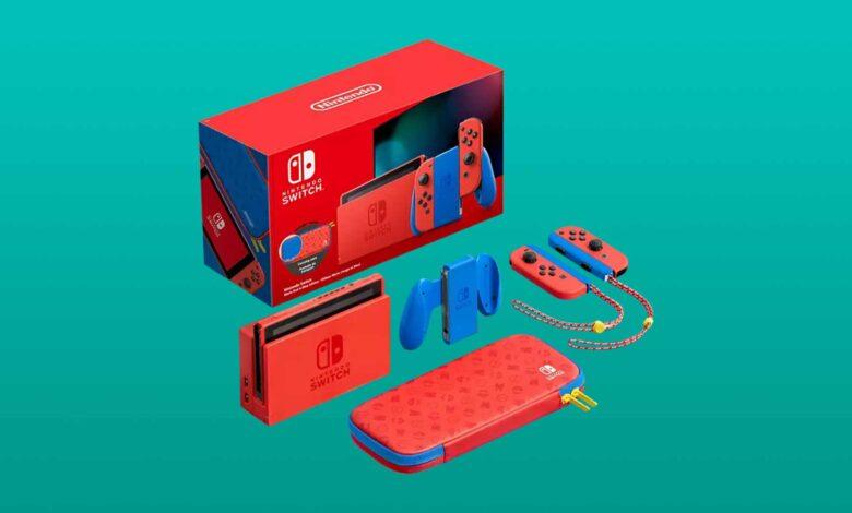 La edición especial de Nintendo Switch Mario ahora más barata a la venta